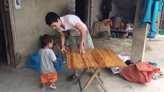 Bàn Gấp Sáng Tạo Của Dân Tộc Vùng Cao Yên Minh Hà Giang - Đại Tim To