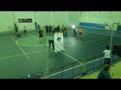 16/01/2018 Clínica de goleiros Amsports/Liga Leste Futsal