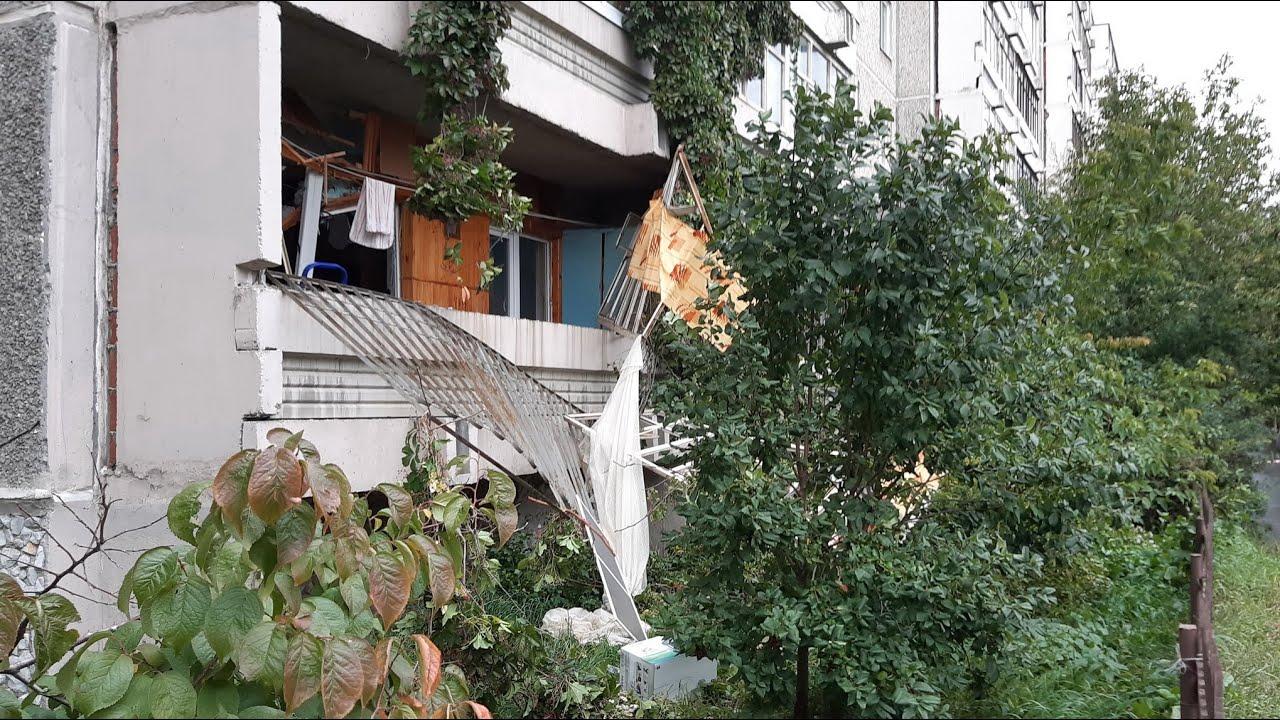 Взрыв газа в многоэтажке в Екатеринбурге