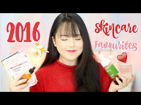 BEST KOREAN SKINCARE PRODUCTS OF 2016 🏆 | MissElectraheart