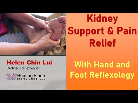 Kidney Support with Hand and Foot reflexology tip