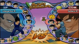 Dragon Ball Z: Budokai 3 Opening and All Characters [PS2]