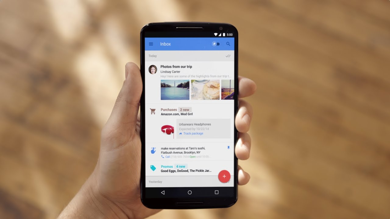 Google adds smart reply to Gmail for iOS, Android