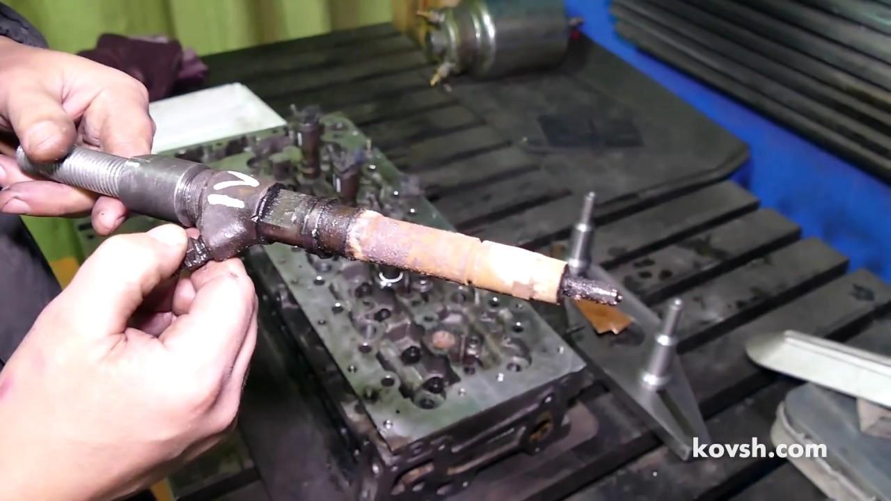 Небывало сложный демонтаж форсунок Iveco 3.0d (F1CE0481* )