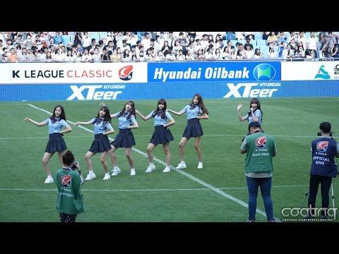 [4K] 160611 H01 여자친구(GFRIEND)-오늘부터 우리는 (Me gustas tu) 직캠(Fancam)/K리그클래식 축하공연