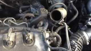Nissan Xtrail 2.2 dCi running with Intercooler removed