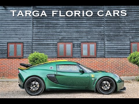 Lotus Exige Touring 6 Speed Manual In Racing Green With Yellow Decals
