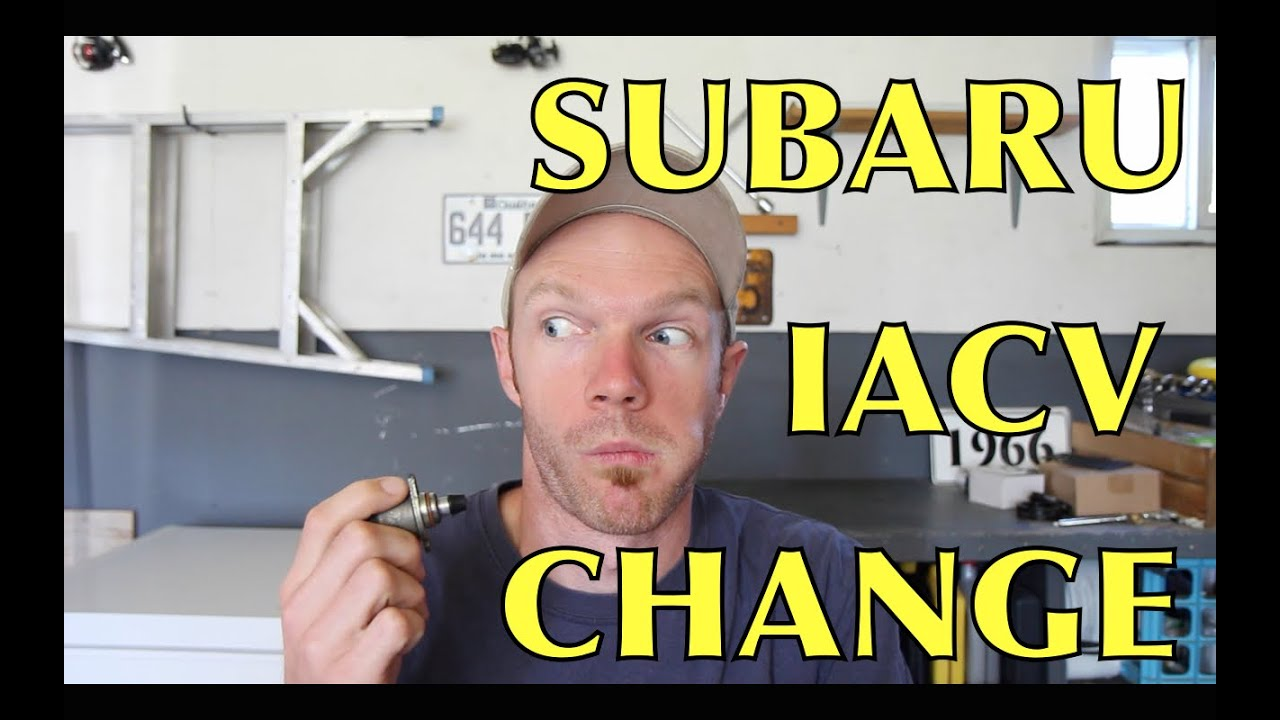 Subaru Idle Air Control Valve Replacement Youtube 1998 Outback Egr