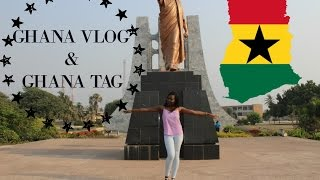 Ghana Vlog | Ghana Tag | The Ethnicity Tag | Speaking Twi