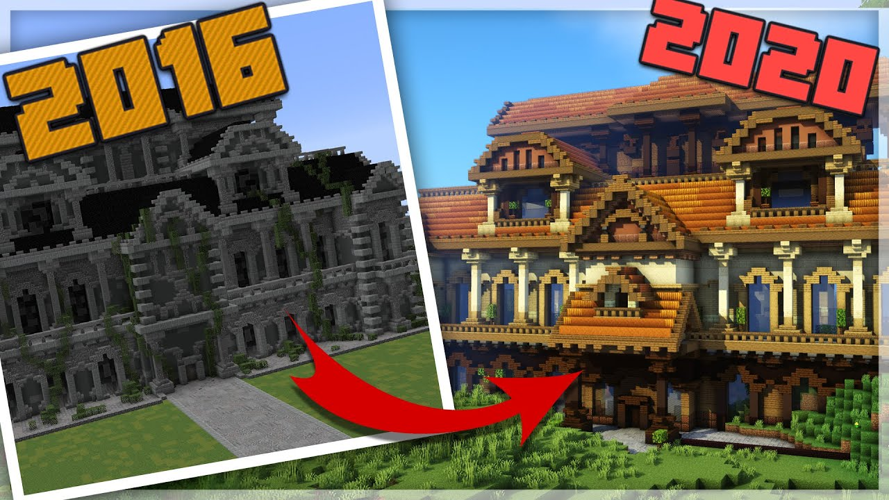 TRANSFORMING 7 Old Builds from 2016! | A Build A Day Challenge - Week 8