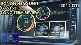 homepage tile video photo for MK6 GTI - Eonon GA5153F Long Term REVIEW!