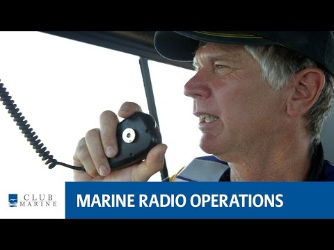 How to use a marine radio