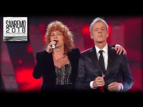 Sanremo 2018  Fiorella Mannoia, Baglioni e Favino con