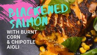 BLACKENED SALMON BY Chef John B.