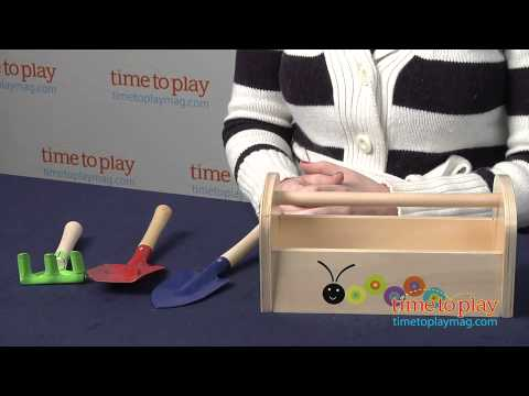 Parents Let's Grow! Garden Tools from Manhattan Toy