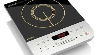 Philips HD-4928/01 Induction Cooktop Unboxing, Review & Demo | Philips Viva Collection Cooktop |