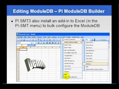 Osisoft Working With Pi Module Database In Pi Smt And The Mdb Builder V2