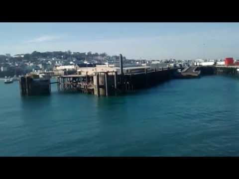 Condor Express arriving Guernsey