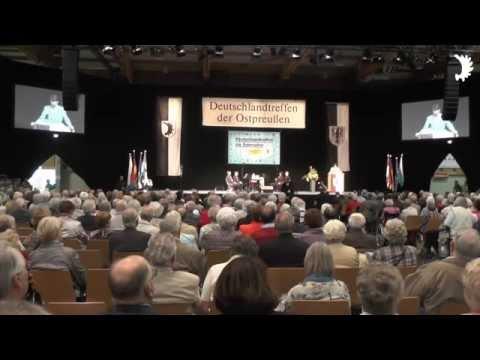 Eröffnung des Deutschlandtreffens der Ostpreußen 2014 durch LO-Sprecher Stephan Grigat