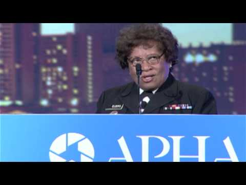 Former U.S.  Surgeon General Joycelyn Elders at 142nd Annual Meeting