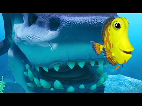 YELLOW DORI TRIES TO SURVIVE THE OCEAN - Feed and Grow Fish - Part 28 | Pungence