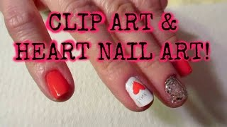★ Easy Nail Art Tutorial For Beginners   DIY ♥Heart♥ & Clipart Design!   Nicole Collet
