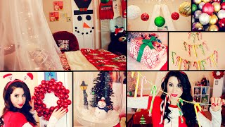 Diy Cute Christmas Room Decor And Organization | Easy Dollar Store Diys!