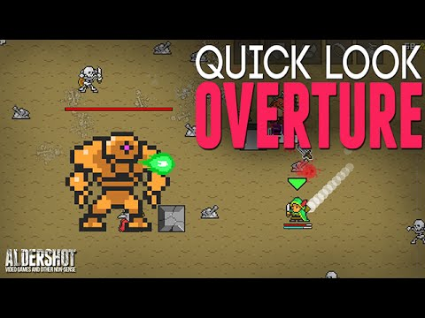 Overture: Quick Look (Indie Game RPG Roguelike, Gameplay And Review)