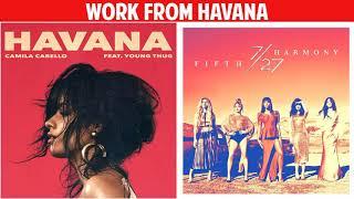 Baixar Havana vs. Work From Home (Mashup) - Camila Cabello & Fifth Harmony