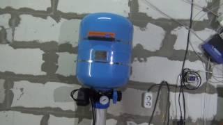 вода в частном доме, Монтаж , тест и рекомендации, Джилекс Краб(Автоматика для скважины с поддержкой давления, Джилекс