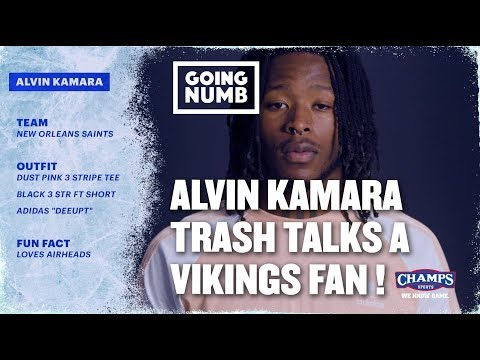 Alvin Kamara Owns a Trash Talking Vikings Fan | Going Numb | Ep. 2, Szn. 2