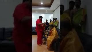 VENU SWAMY BLESSING AP CM CHANDRA BABU NAIDU