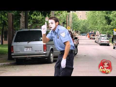 Mime Cop VS Officer Clown