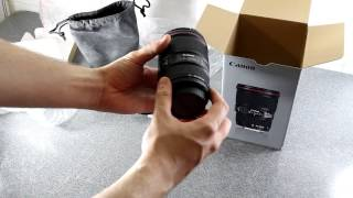 Canon EF 16-35mm f/4 L IS USM Unboxing & Test