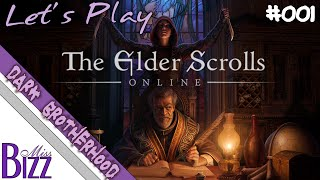 Getting the Invite - ESO Dark Brotherhood DLC - #001 Let's Play Elder Scrolls Online DB Blind!