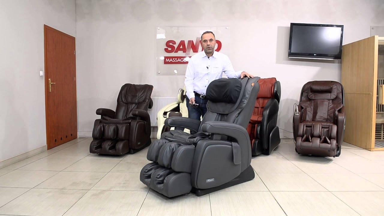 Pozycja Zero Gravity W Fotelach Masujących 1 Fotele Z Masażem