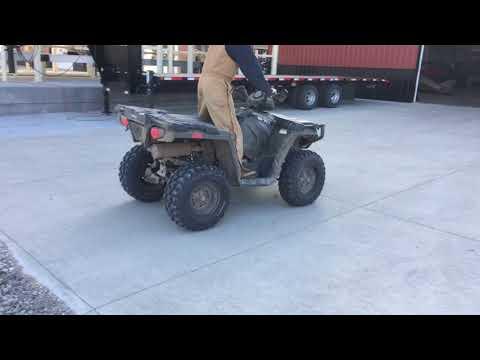 BigIron Online Auctions, 2015 Polaris Sportsman 570 4x4 ATV, January 24, 2018