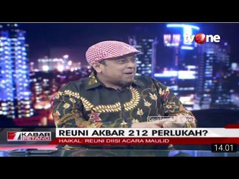 Ustadz Haikal Hasan ke Pendukung Islam Nusantara : Takut Kalah ya??