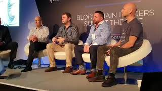 Ripple, EOS and Ethereum and Etherparty together in a panel at the Blockchain Live event