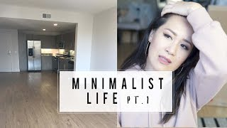 Minimalist Living Update: From 3000 sq ft Home to 730 sq ft Apartment | ANN LE