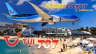 BOEING 787 Dreamliner to ST MAARTEN!