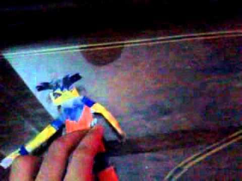 Dbz goku paper toy hm