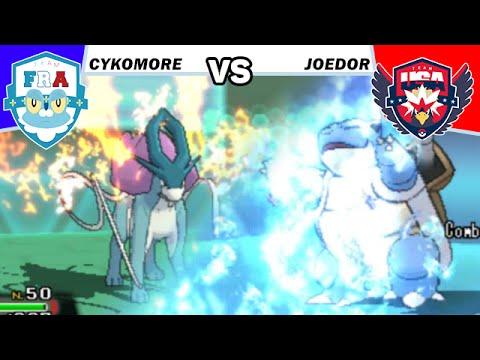 FRANCE VS USA (Joedor) Pokémon ROSA WIFI BATTLE LIVE - POKEMON WORLD CUP DRAFT LEAGUE
