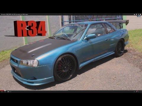 r34 auto to manual conversion