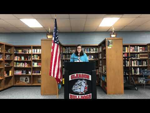 Gleason School Celebrates Veterans Day
