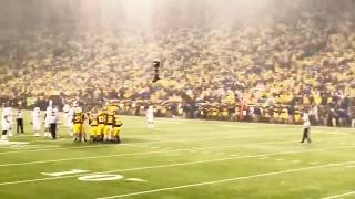 Michigan vs Michigan State Football - Mr. Brightside singalong