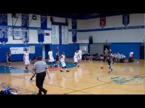 Collingswood High School vs Sterling High School Boy's Basketball Part3 (2/5/13)