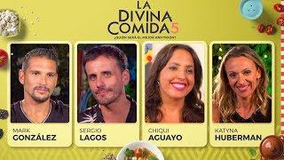 La Divina Comida - Mark González, Chiqui Aguayo, Sergio Lagos y Katyna Huberman