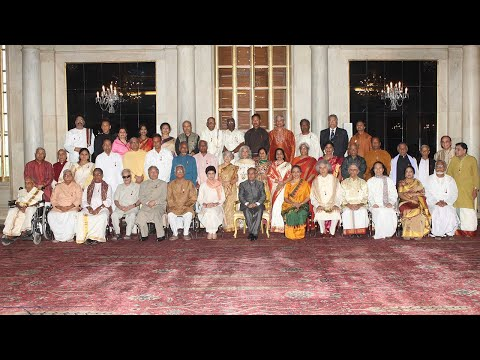 PRESIDENT PRESENTS THE SANGEET NATAK FELLOWSHIP AND AKADEMI AWARDS FOR 2011  - Part3
