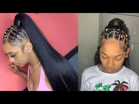 💕✨rubberband-hairstyles-compilation-2019✨💕